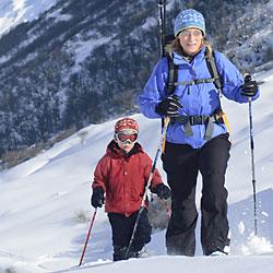 Schneschuhtour für Familien und Alleinerziehende mit Kindern