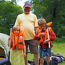 Familien Urlaub im Naturpark Altmühltal
