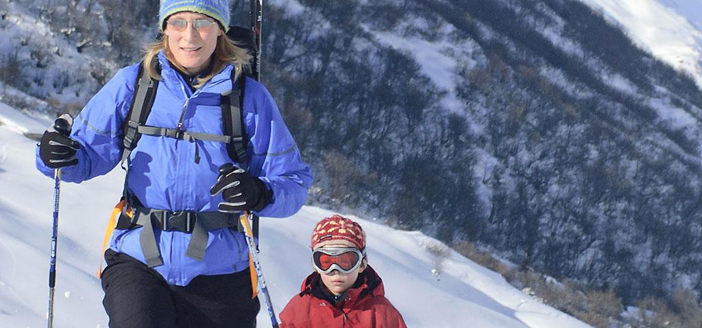 Schneeschuh Tour für Familien in Bichlbach - Berwang