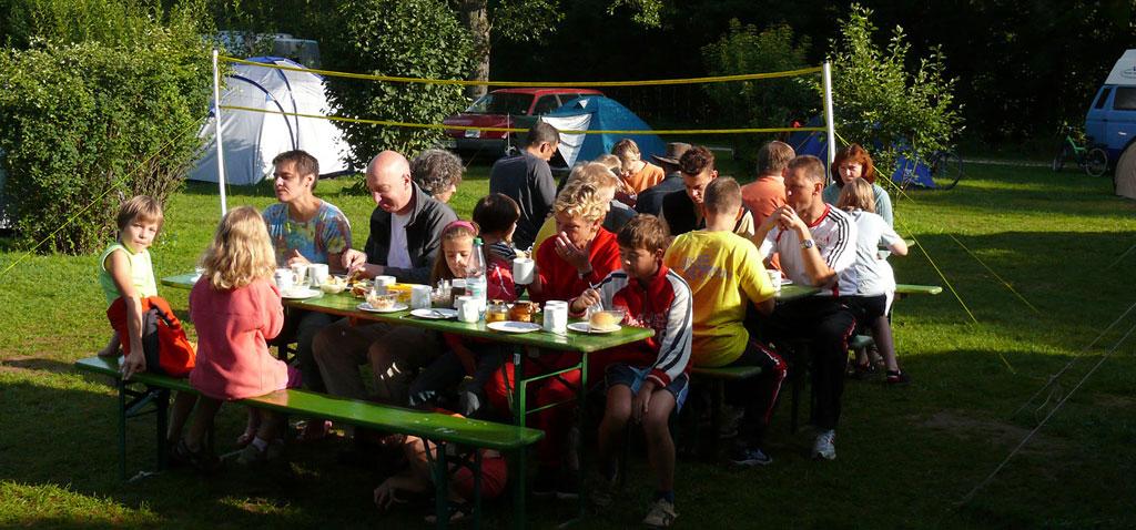 Familien Kanu Wochenende Altmühl