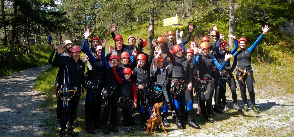 Familien Abenteuerwoche mit Komfortanspruch in Tirol