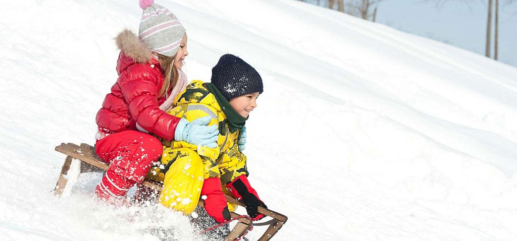 Familien Winter Erlebnis Urlaub in der Ötztal Region