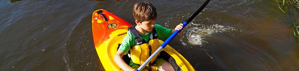 Erlebnis Urlaub mit Kanu und Kajak für Familien mit Kindern
